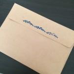 手作り 封筒 デコレーション 簡単