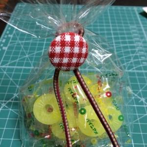 ラッピング お菓子 バレンタイン 簡単 100均 くるみボタン