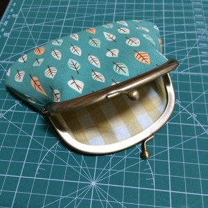 ダイソー がま口 手作り がま口ポーチ ハンドメイド 95mm