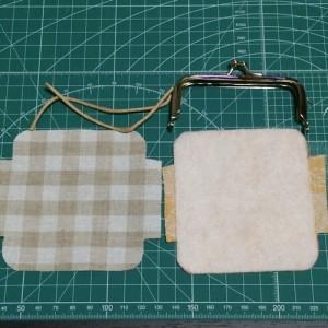 がま口 手作り リップケース 印鑑ケース 作り方 簡単