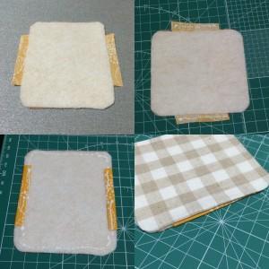 リップケース 印鑑ケース がま口 作り方 簡単 手作り ハンドメイド
