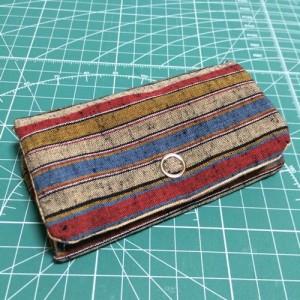 コインパース 小銭入れ 財布 ハンドメイド 手作り 和 遠州綿紬