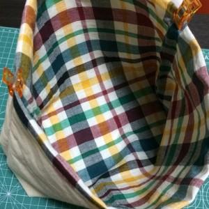 ダイソー 手作り ハンドメイド 100均 布 はぎれ バッグ 持ち手
