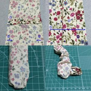 アームバンド 作り方 簡単 縫い方 ハンドメイド