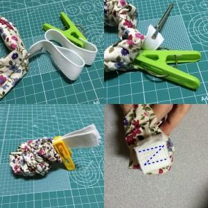 アームバンド 作り方 縫い方 簡単 ハンドメイド 袖