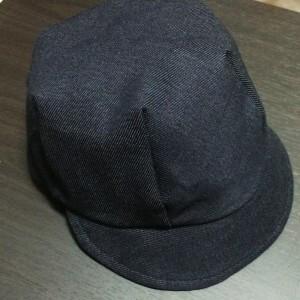 100均 デニム ハンドメイド 手作り 帽子 キャスケット 簡単