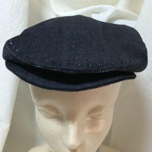 ハンチング 型紙 手作り 帽子 ハンドメイド Haro*Beh はろべえ かっこいいハンチング