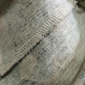 ロックミシン サルエルパンツ パンツ ボトム ズボン 縫い目