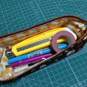 ワイヤー口金 ペンケース 18cm 2.5cm 手作り ワイヤーポーチ ハンドメイド