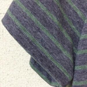 Tシャツ 手作り 型紙 ハンドメイド ニット 半袖 polka drops そうげんTシャツ