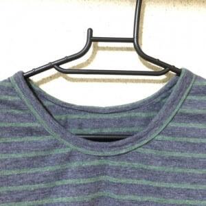 Tシャツ 手作り 型紙 ハンドメイド ニット polka drops そうげんTシャツ バインダー始末