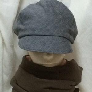 帽子 ハンドメイド 手作り キャスケット 型紙 ラップキャップ パターンレーベル パタレ