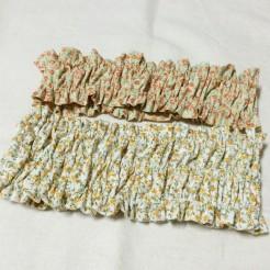 ヘアバンド ヘアーバンド 手作り ハンドメイド ミシン ゴム 型紙  Rick rack リックラック 小サイズ 中サイズ 布 生地 長さ