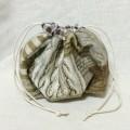 巾着 マチ マチ付き 巾着袋 型紙 タックきんちゃく snowwing